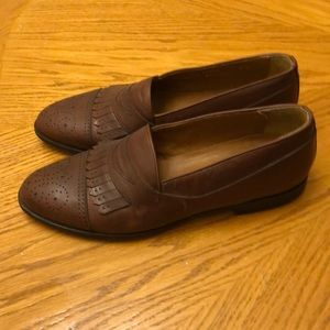 Bostonian Florentine Loafers Kiltie Brown 9.5M
